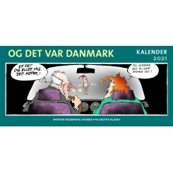 Og det var Danmark kalender 2021