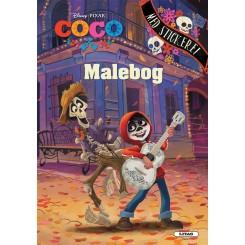 Coco: malebog med klistermærker