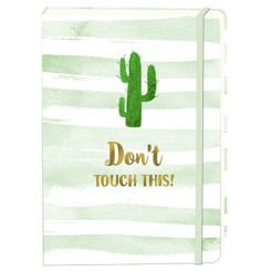 Notesbog, A5, Don't touch
