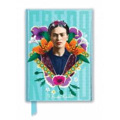 Notesbog, A5, Frida Kahlo blå