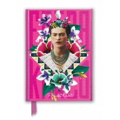Notesbog, A5, Frida Kahlo pink