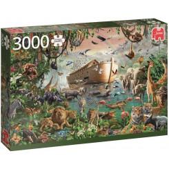 Puslespil Noah's Ark, 3000 brikker