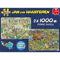 Puslespil Jan van Haasteren, Combo Food Festival 2 i 1, 1000 brikker
