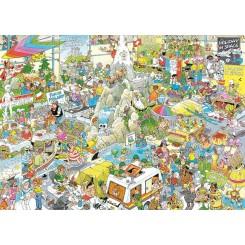 Puslespil Jan van Haasteren, The Holiday Fair, 1000 brikker