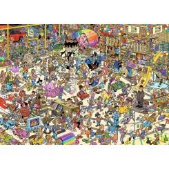 Puslespil Jan van Haasteren, The Toy Shop, 1000 brikker