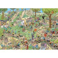 Puslespil Jan van Haasteren, World Championships Cyclocross, 1000 brikker