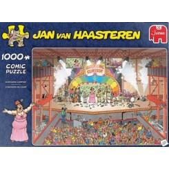 Puslespil Jan van Haasteren, Eurosong Contest, 1000 brikker