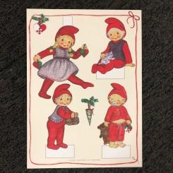 Kravlenisser, Pige med julehjerter
