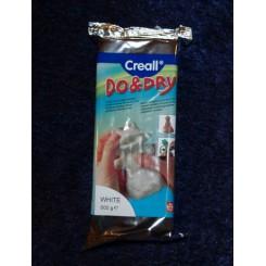 Do and Dry lufttørrende ler, 500 g, hvid