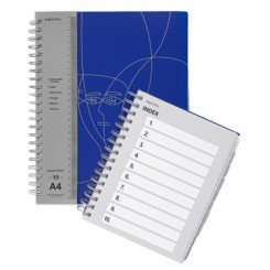Notesbog, Subject Book A4 - 10-delt