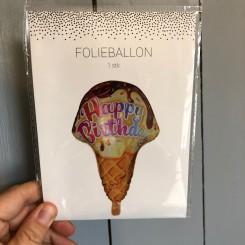 Folieballon 48*75cm, Vaffelis