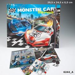 Monster Cars Stickerworld