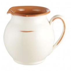 Terracotta kande H15 cm, Hvid