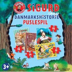 Sigurd lægger Danmarkshistorie puslespil