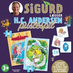 Sigurd lægger H.C. Andersen puslespil