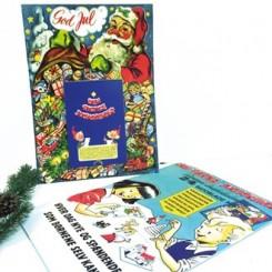 Julekalenderblok, 24 Bramming datoblade