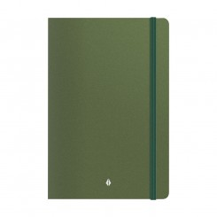 Notebook Deluxe A5, green
