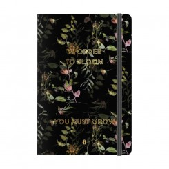Notebook Deluxe A5, flower