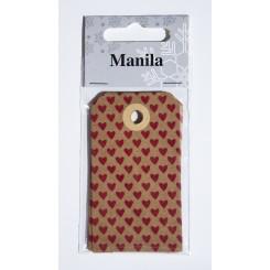Manillamærker, røde hjerter