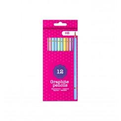 Sense blyanter, pastel, 12 stk.