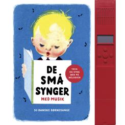 De små synger med musik