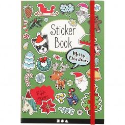 Bog Med Stickers, Julemotiver
