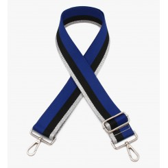 Skulderstrop ∙ Clara ∙ Color Blue-Black-Silver