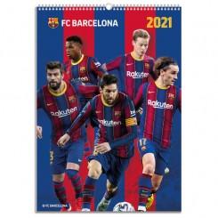 Vægkalender FC Barcelona 2021