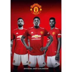 Vægkalender Manchester United 2021