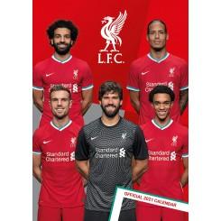 Vægkalender Liverpool 2021