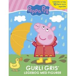 Peppa Pig - Gurli Gris' legebog - med 10 figurer og legemåtte