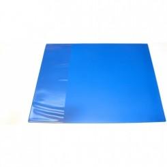 Skriveunderlag med klap, blå