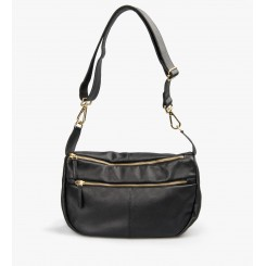 Sophia Leather Black w. gold