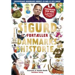 Sigurd fortæller danmarkshistorie - Guldudgave