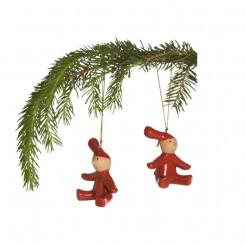 PIXY nisser til juletræ, 2 stk.