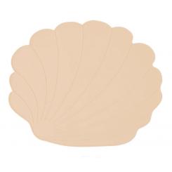 OYOY Dækkeserviet Muslingeskal - Vanilla