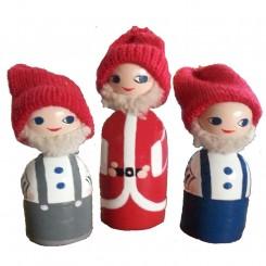 Anne Beate Design, Julemanden og hans hjælpere i træ