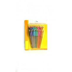 Sæt med blyanter og farveblyanter med grip