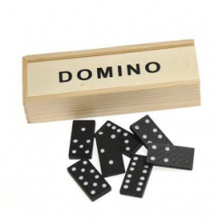 Domino, træbrikker
