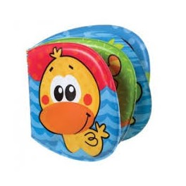 Pive-bade-bog med and, Playgro
