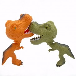 Bite The Hand Dinosaur, orange