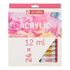 Royal Talens Art Creation akryl maling sæt med 24 x Tube 12 ml