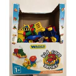 Wader Toys plastik biler mm.