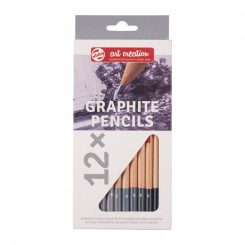 Graphite blyanter, 12 stk.