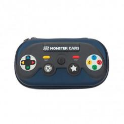Monster Cars Penalhus, blå controller