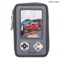Monster Cars Trippel Penalhus m/LED, gameboy