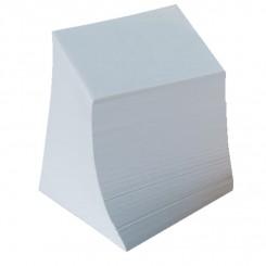 Kubus notesblok refill 9x9cm, hvid