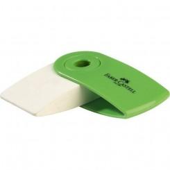 Faber Castell sleeve viskelæder, grøn