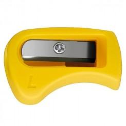 Stabilo blyantspidser til venstre hånd, gul