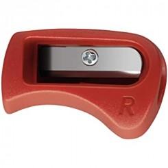 Stabilo blyantspidser til højrehånd, rød